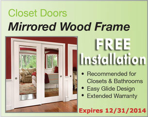 Fall Special Mirrored Wood Frame